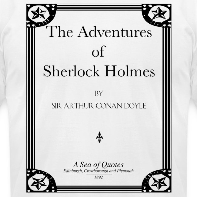 Sherlock Holmes Title Page