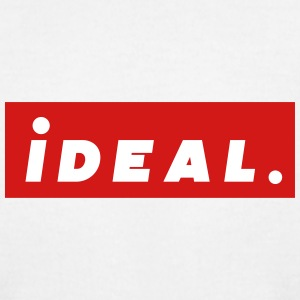 ideal Logo Red - Men's T-Shirt by American Apparel