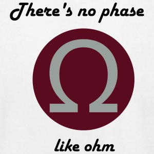 Theres No Phase Like Ohm - Men's T-Shirt by American Apparel