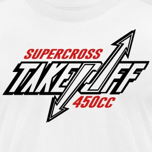 TakeOff-Supercross450cc - Men's T-Shirt by American Apparel