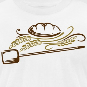 Bread with cereals - Men's T-Shirt by American Apparel