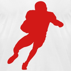 football guy - Men's T-Shirt by American Apparel