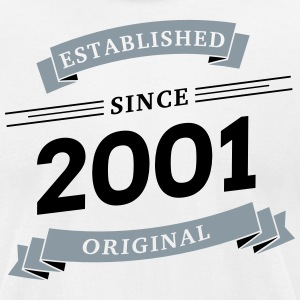 Established since 2001 - Men's T-Shirt by American Apparel
