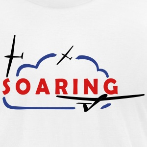 soaring - Men's T-Shirt by American Apparel