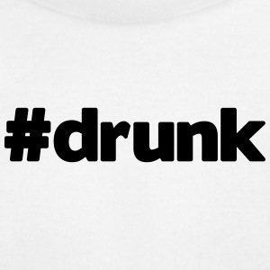 hashtag drunk - Men's T-Shirt by American Apparel