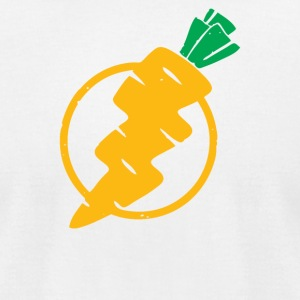 carrots lightning - Men's T-Shirt by American Apparel