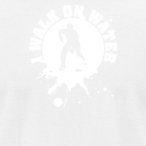 I walk on water - Men's T-Shirt by American Apparel