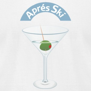 APRES SKI - Men's T-Shirt by American Apparel