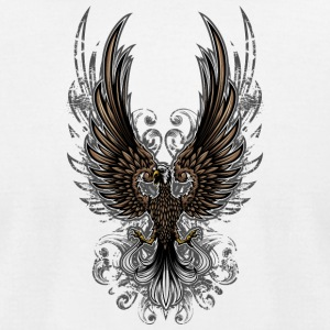 amazing_bird - Men's T-Shirt by American Apparel
