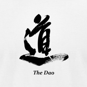 The Dao (Black) - Men's T-Shirt by American Apparel