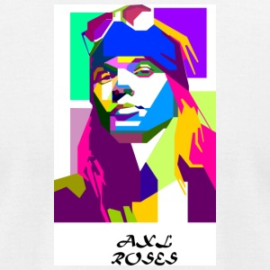 axl rose - Men's T-Shirt by American Apparel