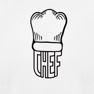 final chef logo transparent - Men's T-Shirt by American Apparel