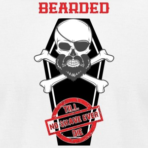 bearded - Men's T-Shirt by American Apparel