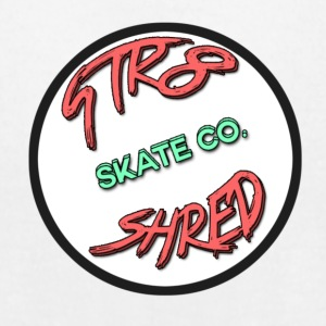 STR8 SHRED Logo - Men's T-Shirt by American Apparel