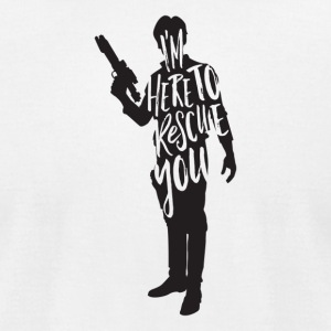 Han Solo quote t shirt design JLane Design Teepubl - Men's T-Shirt by American Apparel