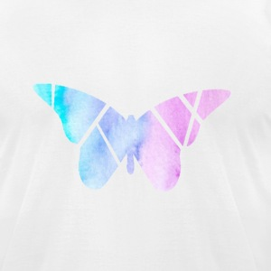 Bright Butterfly - Men's T-Shirt by American Apparel