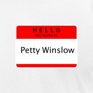 Petty Winslow - Men's T-Shirt by American Apparel