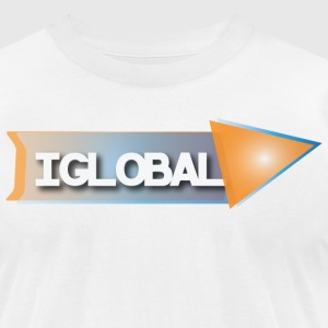 iGlobal Theme T Shirt - Men's T-Shirt by American Apparel