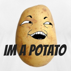 IM A POTATO - Men's T-Shirt by American Apparel
