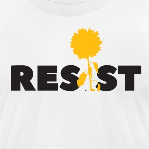 resistflower - Men's T-Shirt by American Apparel