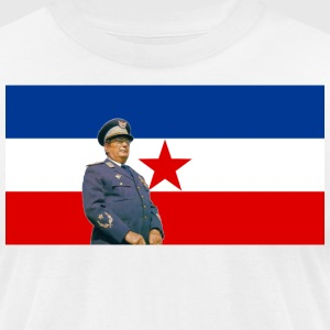 Josip Broz Tito - Men's T-Shirt by American Apparel