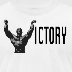 victory proto 2 - Men's T-Shirt by American Apparel