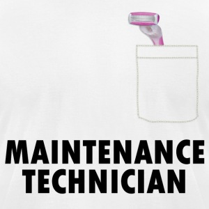 Pussy Maintenance Technician - Men's T-Shirt by American Apparel