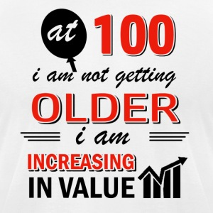 Funny 100 year old gifts - Men's T-Shirt by American Apparel
