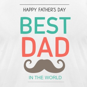 BEST DADDY - Men's T-Shirt by American Apparel
