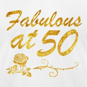 Fabulous at 50 years - Men's T-Shirt by American Apparel