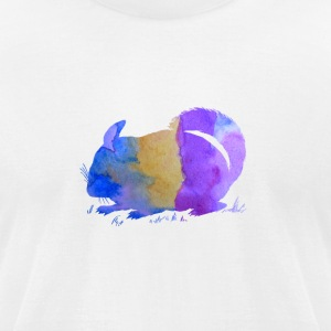 Chinchilla - Men's T-Shirt by American Apparel