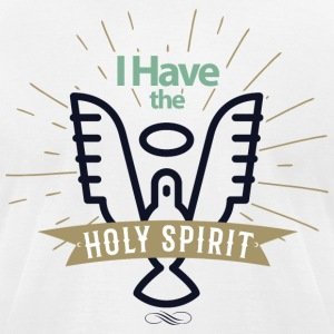 Holy Spirit - Men's T-Shirt by American Apparel