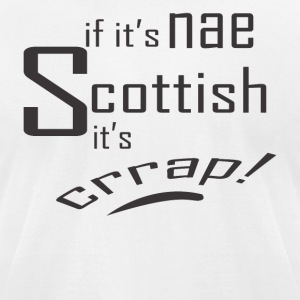 scottish - Men's T-Shirt by American Apparel