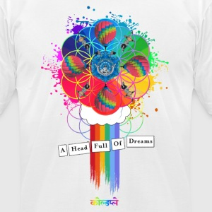 Coldplay - Men's T-Shirt by American Apparel