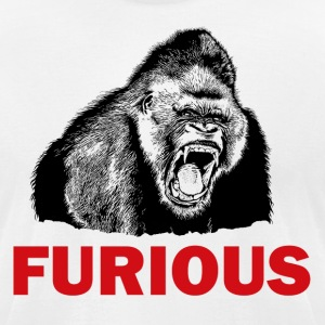 FURIOUS - Men's T-Shirt by American Apparel