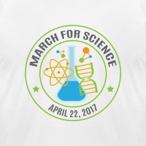 March For Science - Men's T-Shirt by American Apparel