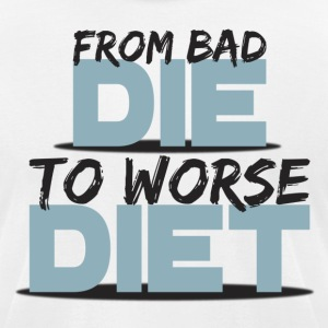 From Bad To Worse - Men's T-Shirt by American Apparel