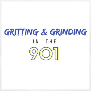 Gritting & Grinding in the 901 - Men's T-Shirt by American Apparel