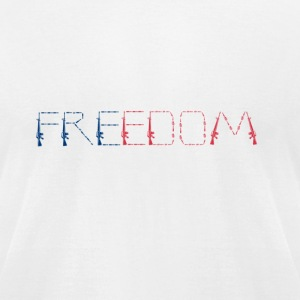 Freedom - Men's T-Shirt by American Apparel