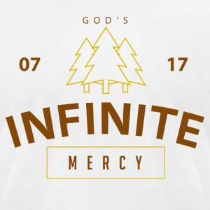 Infinite Mercy - Men's T-Shirt by American Apparel