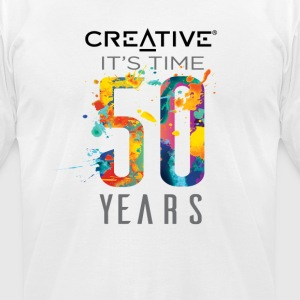 creative no limit - Men's T-Shirt by American Apparel