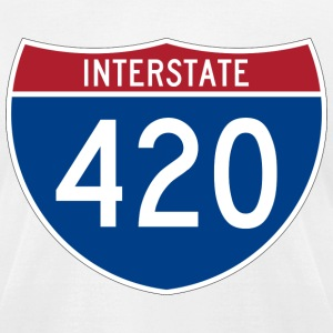 Interstate 420 - Men's T-Shirt by American Apparel