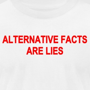 fakenews9 - Men's T-Shirt by American Apparel