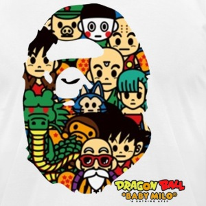 Dragon Ball x Bape - Men's T-Shirt by American Apparel