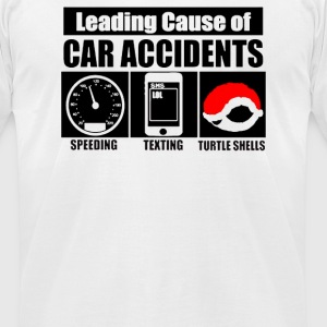 Leading Cause Of Accidents - Men's T-Shirt by American Apparel