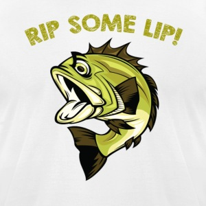 Fish rip some lip - Men's T-Shirt by American Apparel