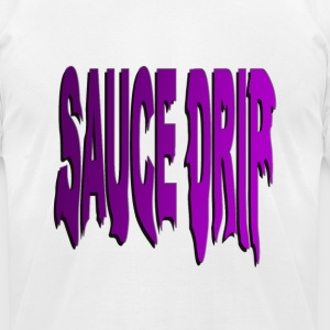 sauce drip - Men's T-Shirt by American Apparel