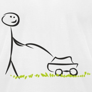 Lawn mover - Men's T-Shirt by American Apparel