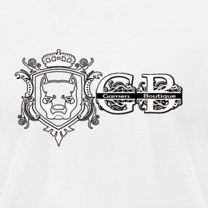 GB Crest - Men's T-Shirt by American Apparel