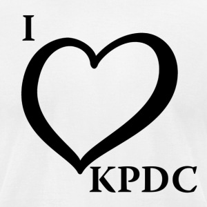 ilovekpdc - Men's T-Shirt by American Apparel
